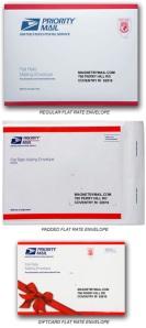 USPS Flat Rate Envelope